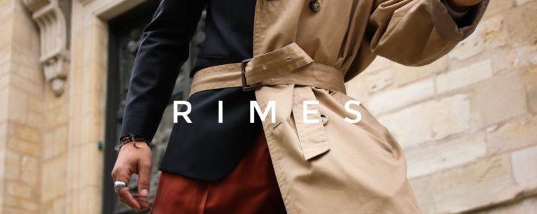 Rimes, et son tailoring décontracté et contemporain.